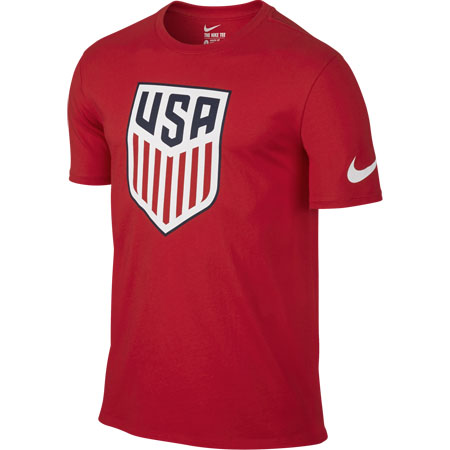 Nike United States Short Sleeve Crest T-Shirt