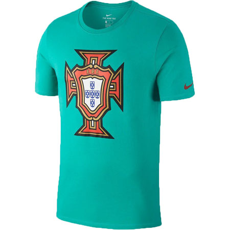 Nike Portugal Youth Crest Tee