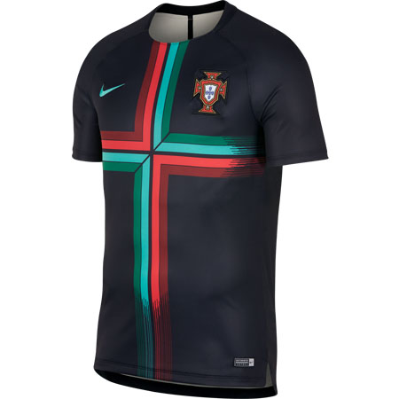 Nike Portugal Dry Short Sleeve Squad Top