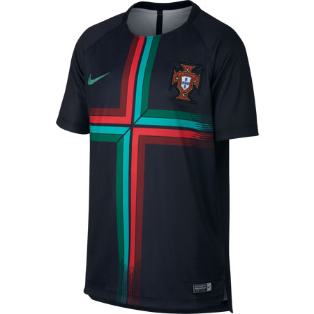 Nike Portugal Youth Dry Short Sleeve Squad Top