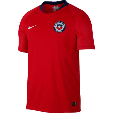 Nike Chile 2018 Home Stadium Jersey