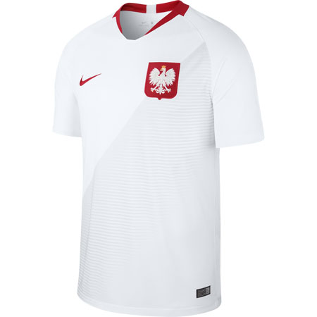 Nike Poland 2018 World Cup Home Stadium Jersey