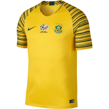 Nike South Africa 2018 Home Stadium Jersey