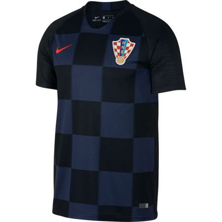 Nike Croatia 2018 World Cup Away Stadium Jersey