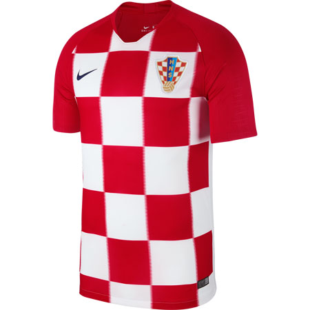 Nike Croatia 2018 World Cup Home Stadium Jersey