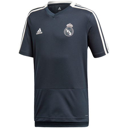 adidas Real Madrid Youth Training Jersey