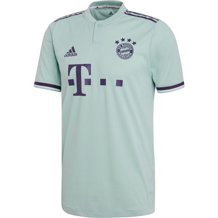 adidas Bayern Munich Away 2018-19 Authentic Jersey
