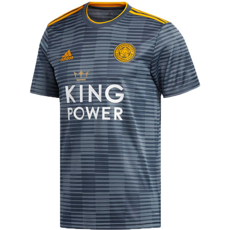 adidas Leicester City 2018-19 Away Replica Jersey