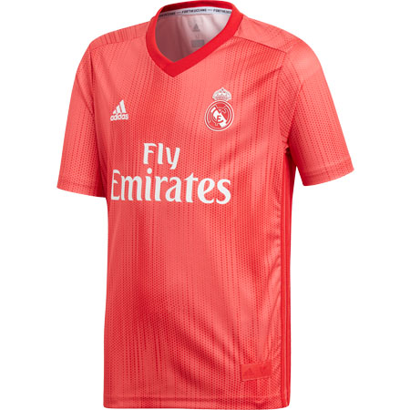 adidas Real Madrid Youth 2018-19 Third Replica Jersey