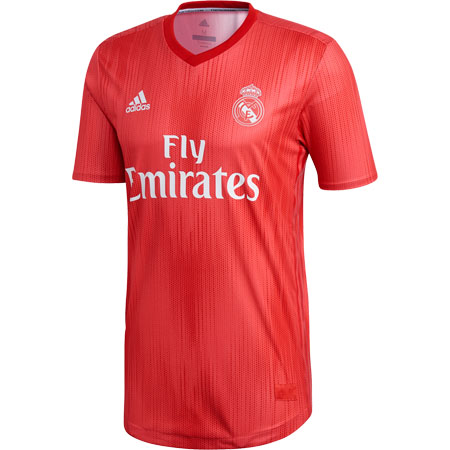 adidas Real Madrid 2018-19 Third Authentic Jersey