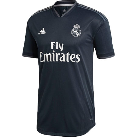 adidas Real Madrid 2018-19 Away Authentic Jersey