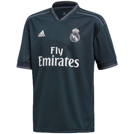 adidas Real Madrid Youth 2018-19 Away Replica Jersey