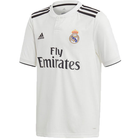 adidas Real Madrid Youth 2018-19 Home Replica