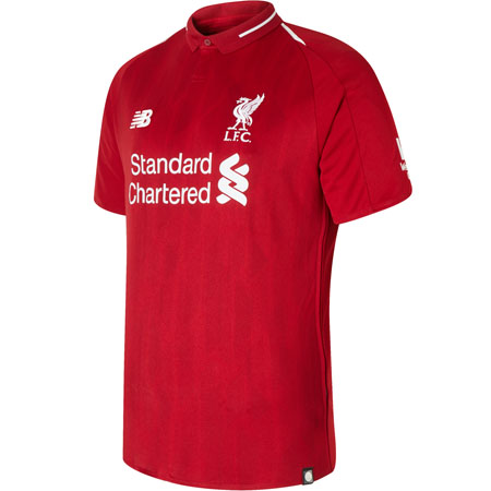 New Balance Liverpool 2018-2019 Home Replica Jersey