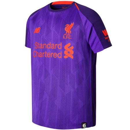 New Balance Youth Liverpool 2018-2019 Away Replica Jersey