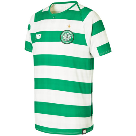 New Balance Celtic 2018-19 Home Youth Replica Jersey