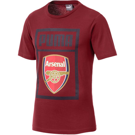 Puma Arsenal Fan Cotton Tee