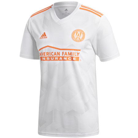 adidas Atlanta United King Peach Secondary Jersey
