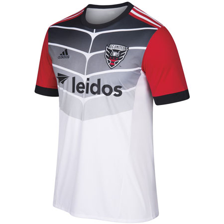 adidas DC United Away 2018-19 Secondary Jersey