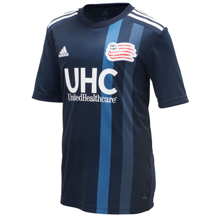 adidas Youth New England Revolution Home 2018-19 Replica Jersey