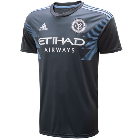adidas NYCFC Away 2018-19 Youth Secondary Jersey