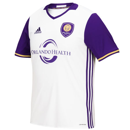 adidas Orlando City Away 2018-19 Youth Secondary Jersey