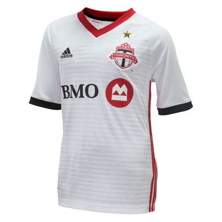 adidas Toronto FC Away 2018-19 Youth Secondary Jersey