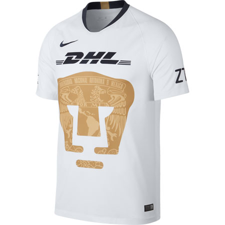 Nike Pumas 2018-19 Home Stadium Jersey 256be3e08e568