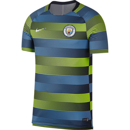 Nike Manchester City Short Sleeve Squad Top