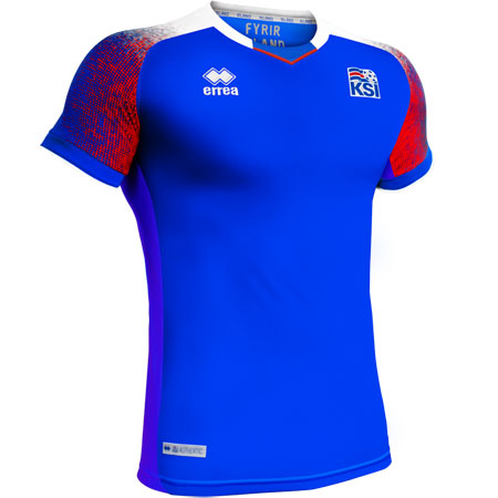 Errea Iceland 2018 World Cup Home Replica Jersey