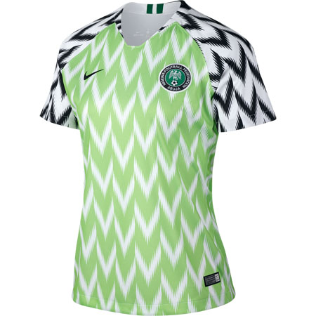Nike Women s Nigeria 2018 World Cup Home Stadium Jersey f742c5236