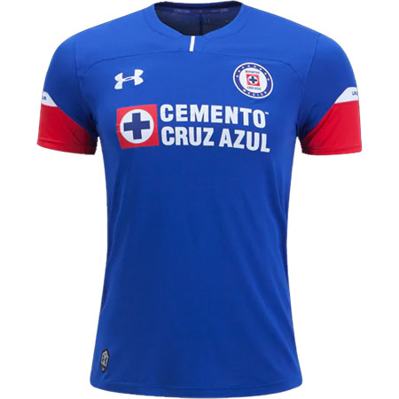Under Armour Cruz Azul Home Jersey