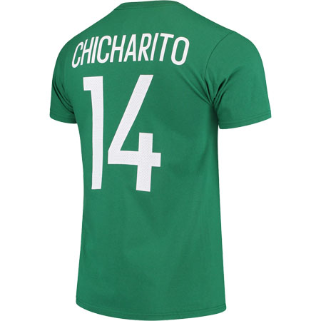 adidas Chicharito 14 Mexico Federation Green Tee