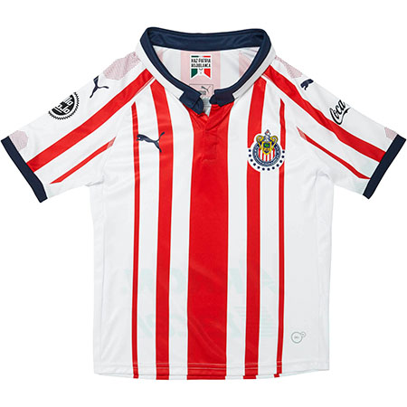c9b639d78 Puma Youth Chivas 18-19 Home Jersey