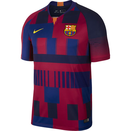 Nike FC Barcelona Home 20th Anniversary Stadium Jersey