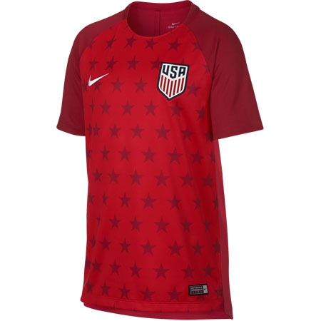 Nike United States Youth Dry Short Sleeve Squad Top