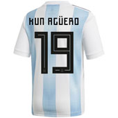 adidas Aguero Argentina 2018 World Cup Home Jersey