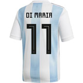 adidas Di Maria Argentina 2018 World Cup Home Jersey