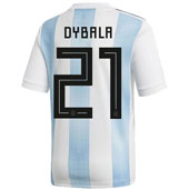 adidas Dybala Argentina 2018 World Cup Home Jersey