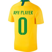 Nike Brazil 2018 World Cup Home Jersey - Pick Your Player