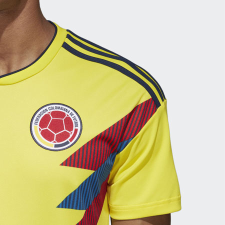 the latest 333f5 f1c07 adidas James Colombia 2018 World Cup Home Jersey | WeGotSoccer