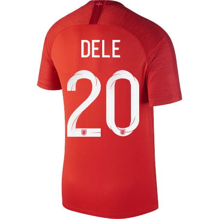 Nike Dele England 2018 World Cup Away Jersey