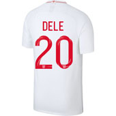 Nike Dele England 2018 World Cup Home Jersey