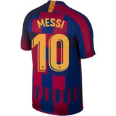 Nike FC Barcelona Messi 20th Anniversary 2018-19 Stadium Jersey