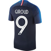 Nike Giroud France 2018 World Cup Home Jersey