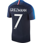 Nike Griezmann France 2018 World Cup Home Jersey