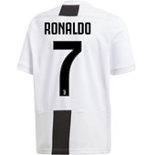 adidas Juventus Youth Ronaldo Home 2018-19 Replica Jersey