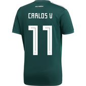 adidas Vela Mexico 2018 World Cup Home Jersey