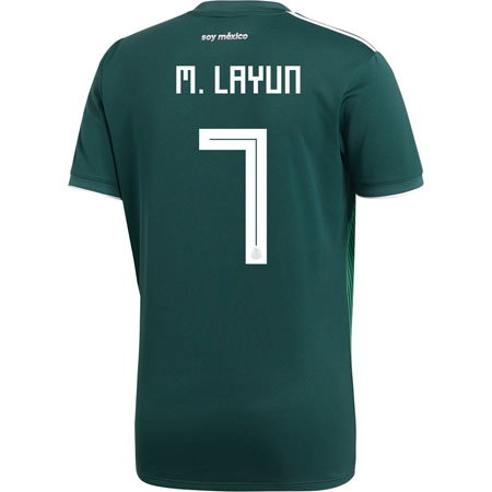 adidas Layún Mexico 2018 World Cup Home Jersey
