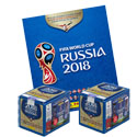 Panini World Cup 2018 Sticker Bundle (Album + 500 Stickers)